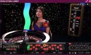 Lucky NikiライブカジノEvolution Gaming社のA1