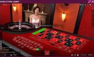 Vip Roulette3D表示