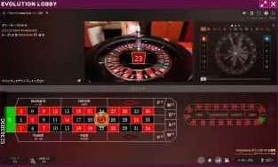 French Roulette Gold従来の表示