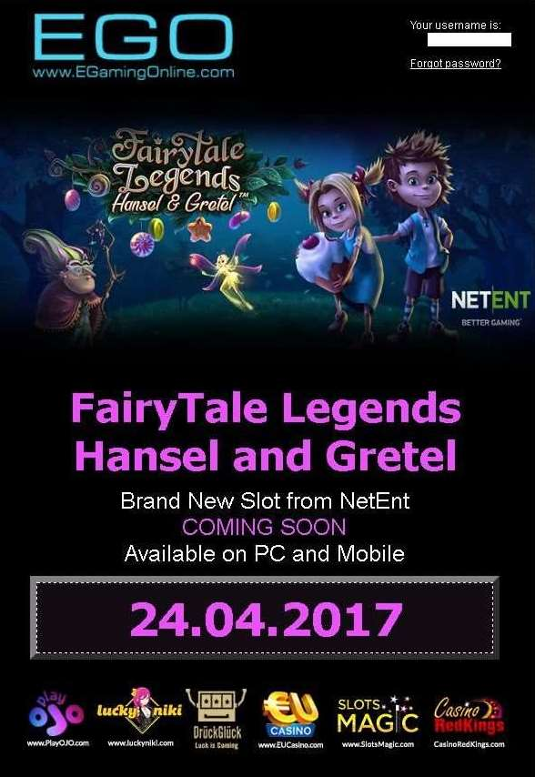 FairyTale Legend Hansel and Gretel導入予告