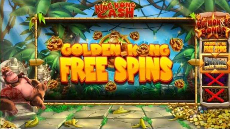 Golden Kong Free Spins1