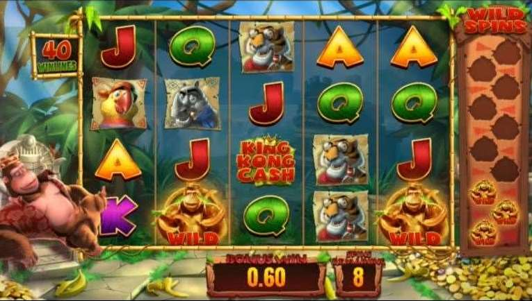Golden Kong Free Spins4