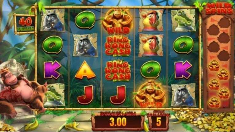 Golden Kong Free Spins5