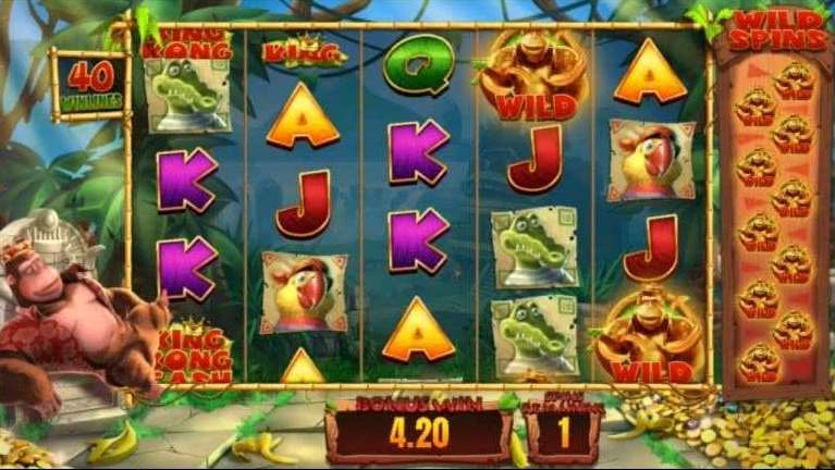 Golden Kong Free Spins6