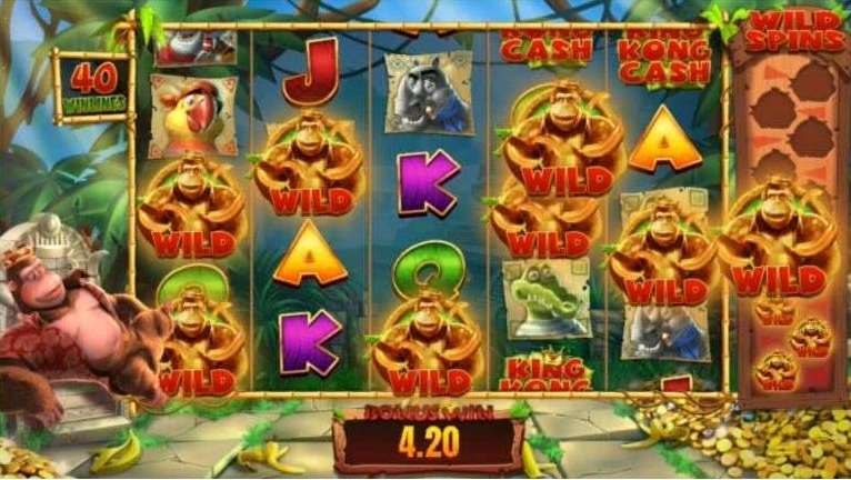 Golden Kong Free Spins8