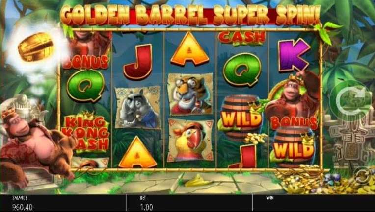 Golden Barrel Super Spin1