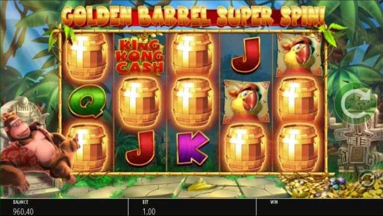 Golden Barrel Super Spin3