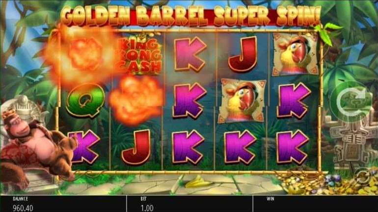 Golden Barrel Super Spin4