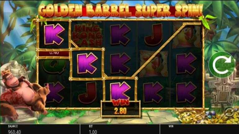 Golden Barrel Super Spin5