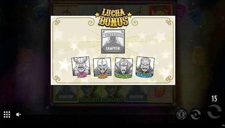 Lucha Bonusゲーム3