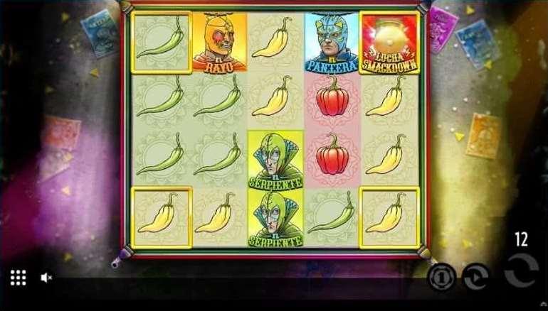 Lucha Bonusゲーム4