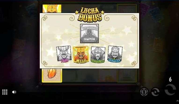 Lucha Bonusゲーム16