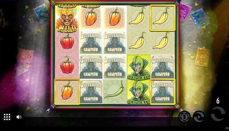 Lucha Bonusゲーム17