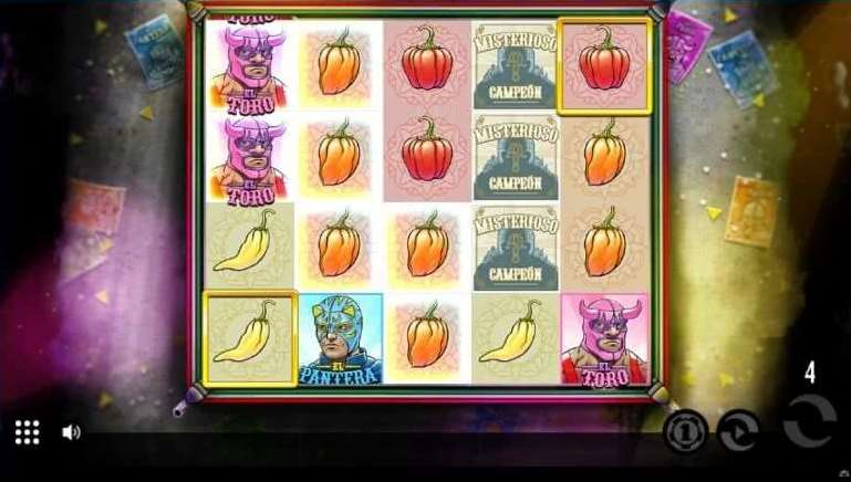 Lucha Bonusゲーム18