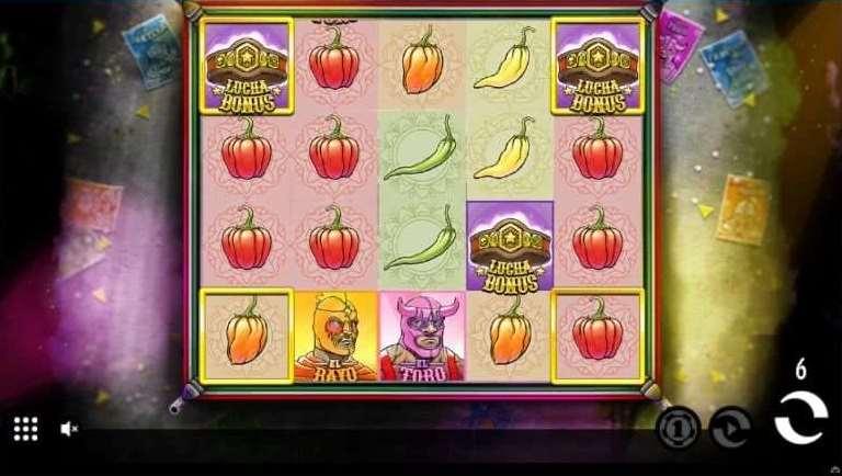 Lucha Bonusゲーム20