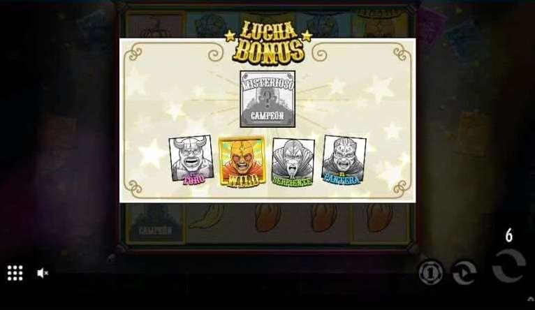 Lucha Bonusゲーム22