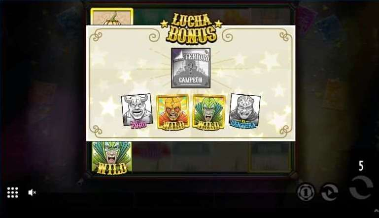 Lucha Bonusゲーム24