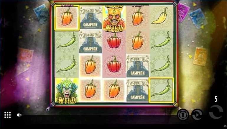 Lucha Bonusゲーム25