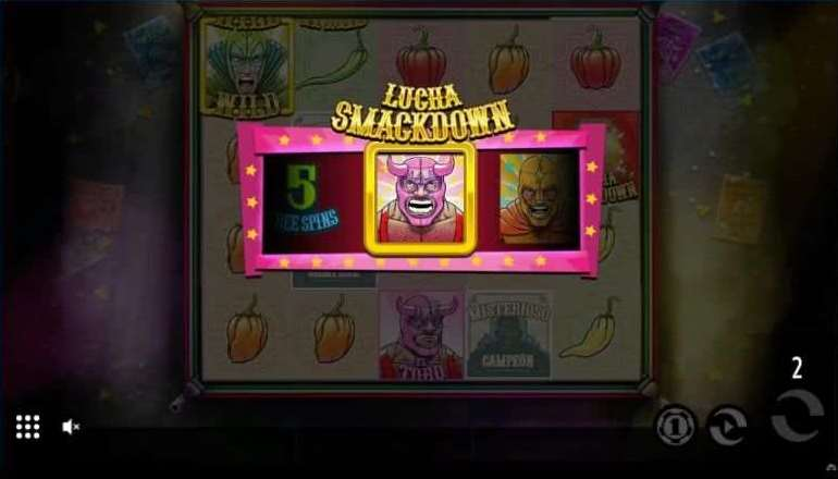 Lucha Bonusゲーム30
