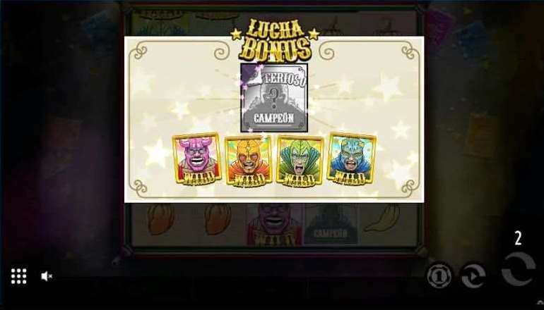 Lucha Bonusゲーム31