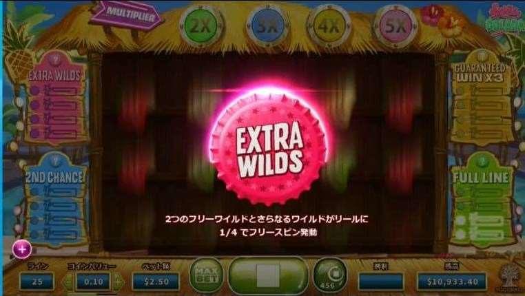 Extra Wilds機能1