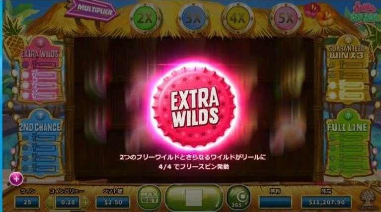 Extra Wilds機能5