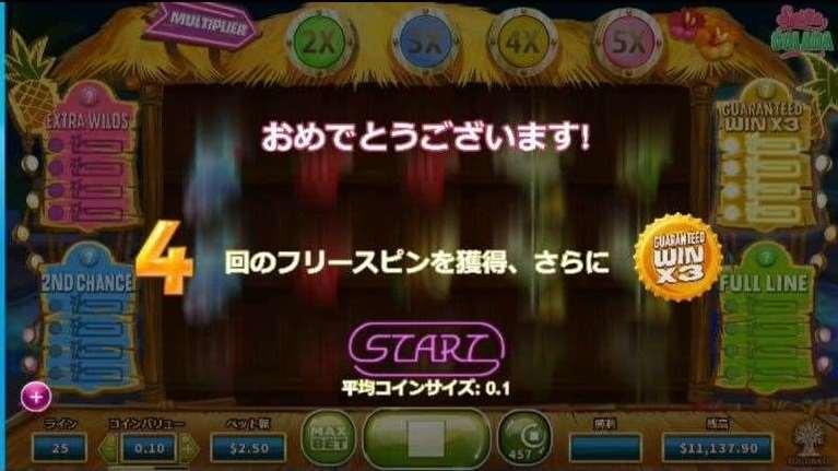 Guaranteed Win X3機能5