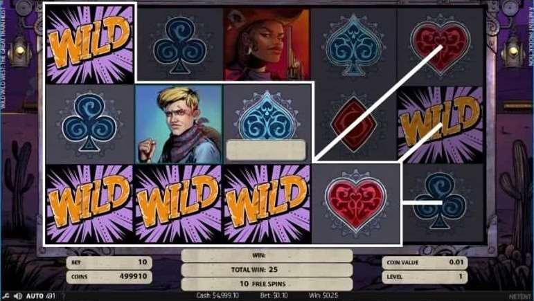 Regular Wildが選ばれた場合3