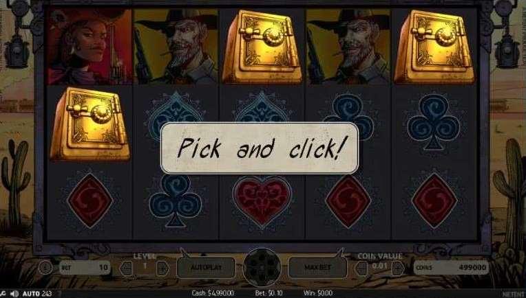 Pick and Click ボーナス3