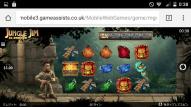21Betカジノ-モバイルサイト-ログイン後スロットゲーム画面2