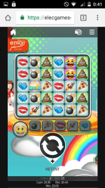21Betカジノ-モバイルサイト-ログイン後スロットゲーム画面4