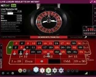 NetEnt Live Vip Roulette2