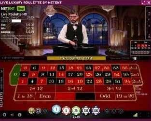 NetEnt Live Vip Roulette 1