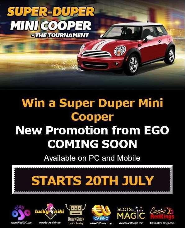 Super Duper Mini Cooperトーナメント