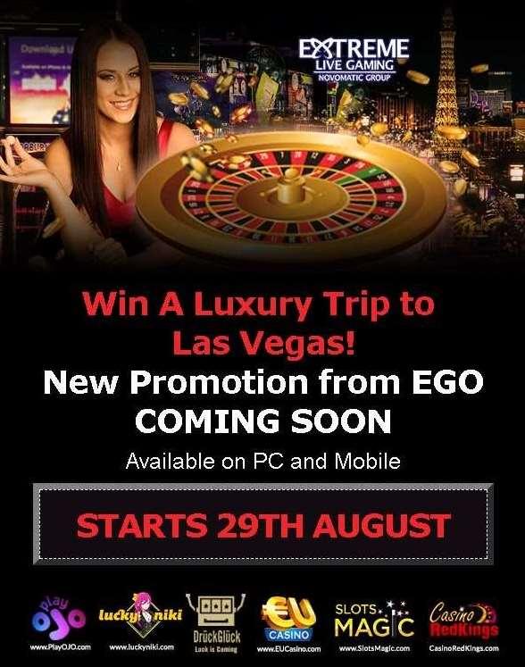 Win a Luxury Trip to Las Vegas