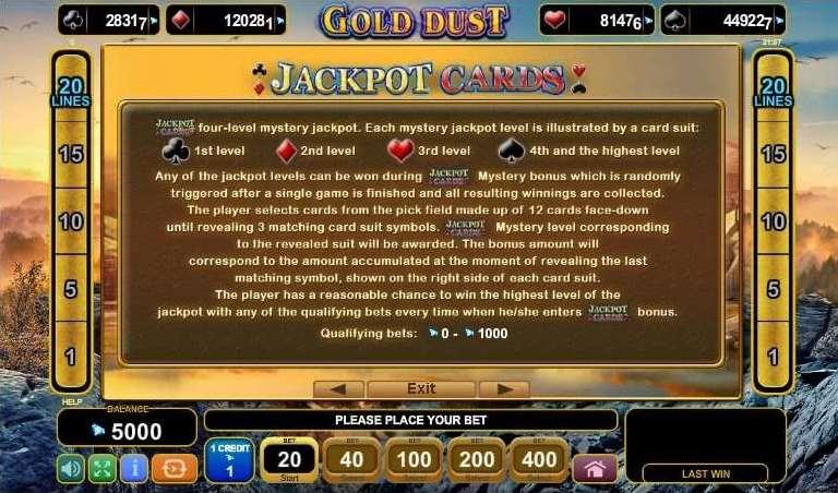 ジャックポットカード1