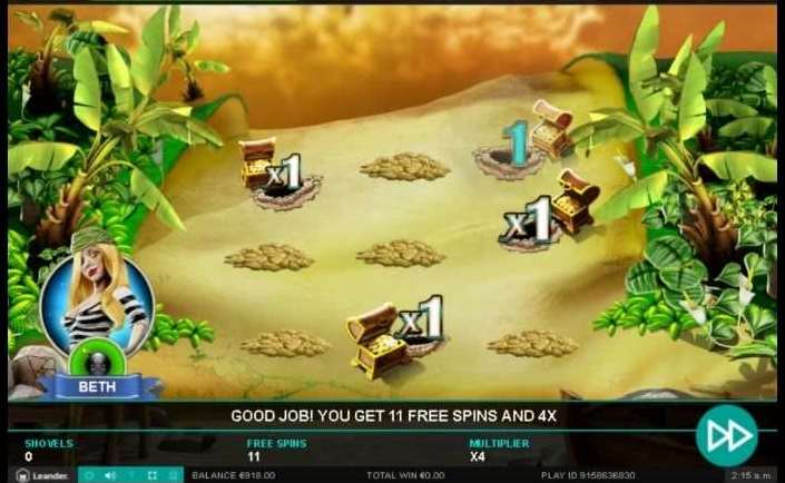 Find The Treasure Free Spins Bonus6