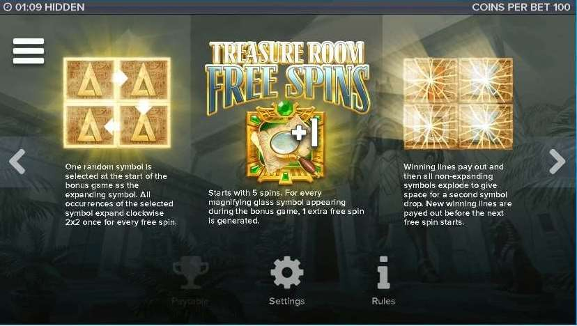 Treasure Room Free Spins2