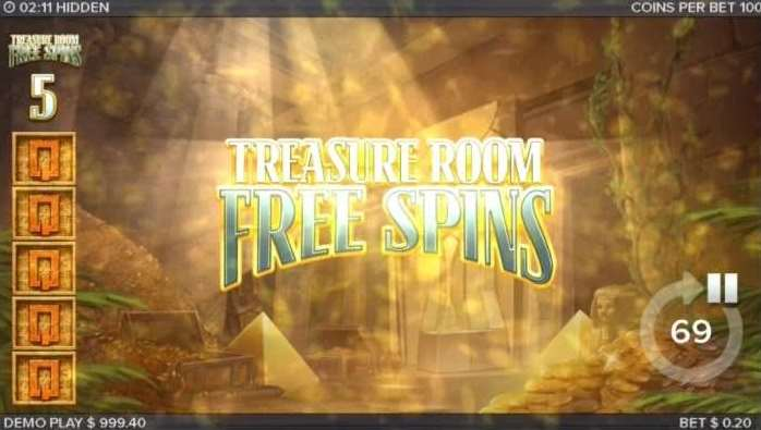 Treasure Room Free Spins4