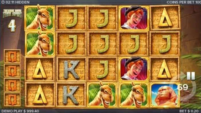 Treasure Room Free Spins5