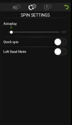 自動プレイ設定画面2