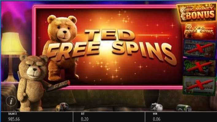 Ted Free Spins1