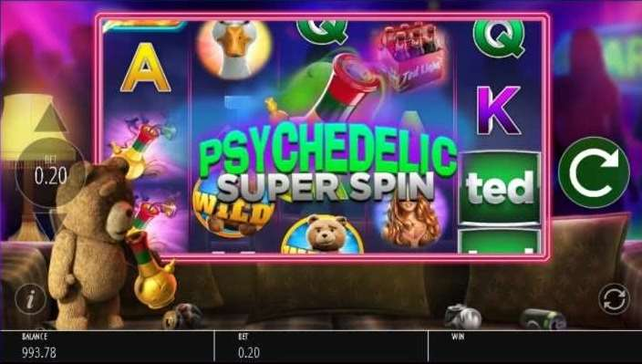 Psychedelic Super Spin1