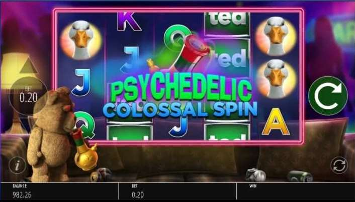 PsyChedelic Colossal Spin4
