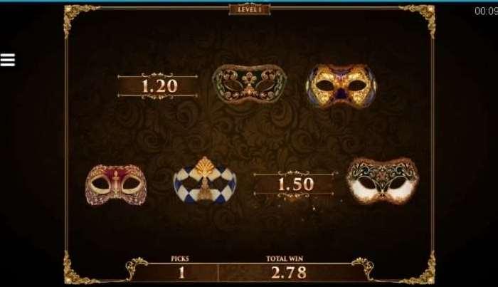 Masquerade Bonus5