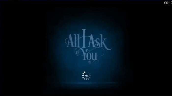 All I ask of You Free Spins2