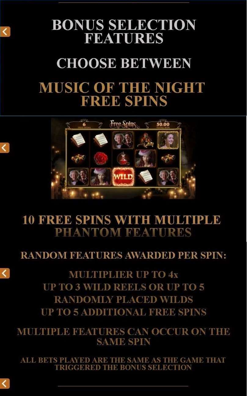 Music of the Night Free Spins1