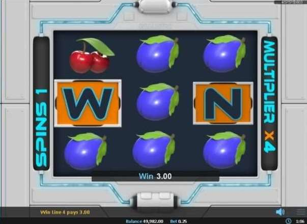 Win Sprintボーナスラウンド7